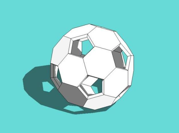 Soccer Ball 3d printed Description
