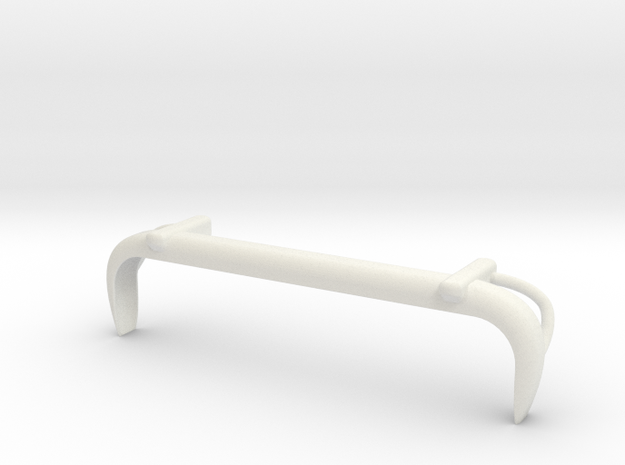 VW T1 Rearbumper in White Natural Versatile Plastic