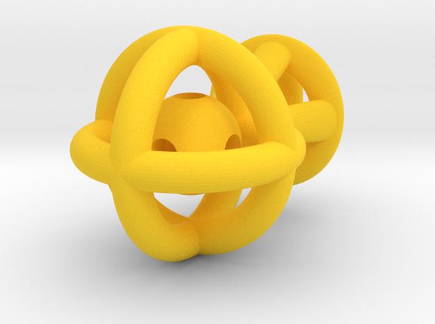 Skippack in Yellow Processed Versatile Plastic: Medium