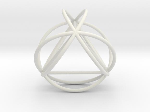 TetraSphere w/nested Tetrahedron