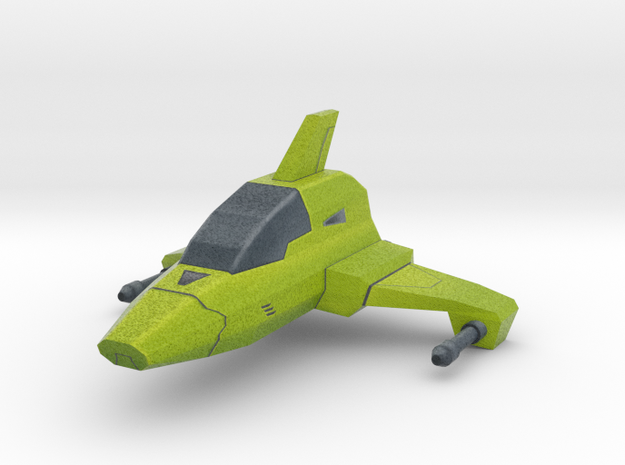 Mini cartoon Starship