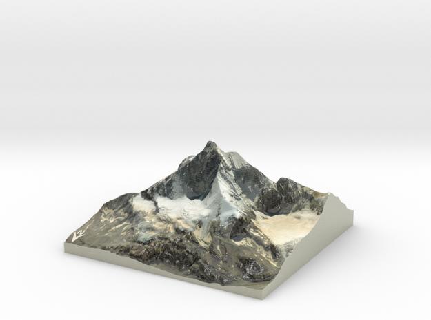 """Matterhorn / Monte Cervino Map: 9"""" (22.8 cm)"""