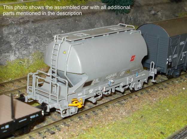 #05A ÖBB H0 (1:87) 'Ucs 910 4' in Frosted Ultra Detail