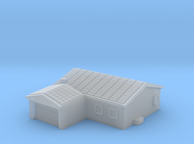 House 2 in Smooth Fine Detail Plastic