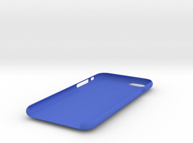 IPhone 6S Skull Case vol.2 in Blue Processed Versatile Plastic