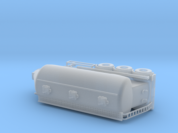 HO 1/87 Feldbinder Grain-Sugar Tanker in Smooth Fine Detail Plastic