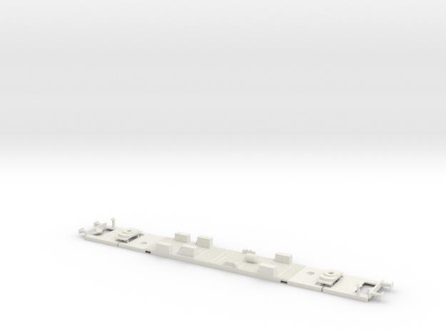 #07C - 50 81 20-34 000 Untergestell in White Natural Versatile Plastic