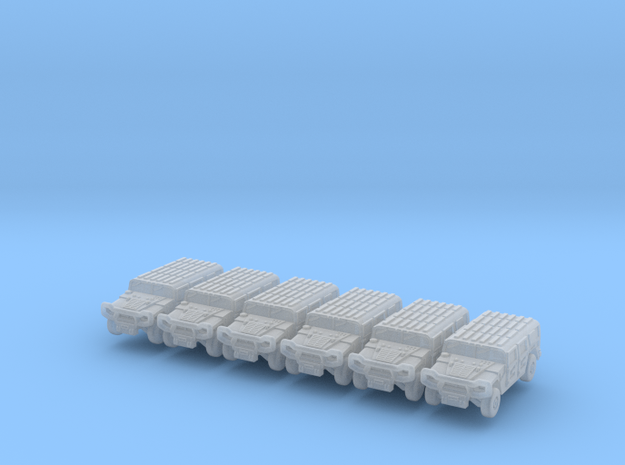 Jeep 1-350-v1 Pack 6x in Smooth Fine Detail Plastic