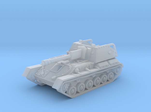 SU-76 M tank (Russian) 1/144 in Smooth Fine Detail Plastic