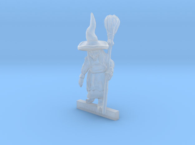 WITCH with BROOMSTICK 28mm miniature