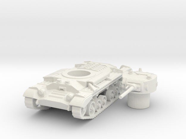 Valentine tank (British) 1/87 in White Strong & Flexible