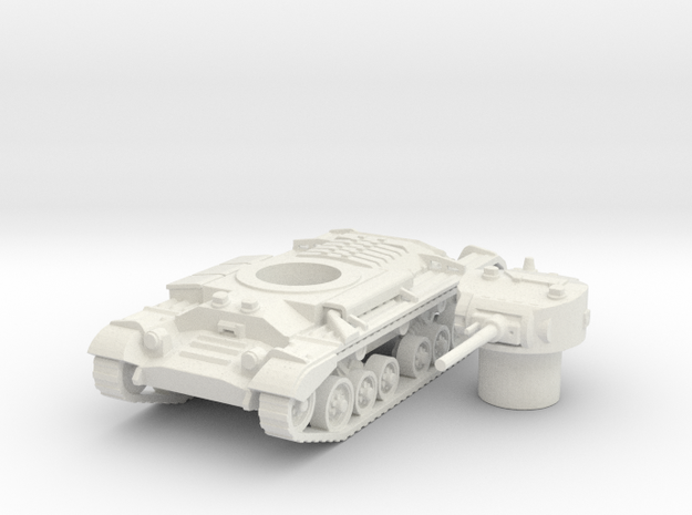 Valentine tank (British) 1/100 in White Strong & Flexible