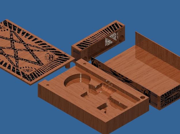 Supernatural Men of Letters Box (main shell)  3d printed