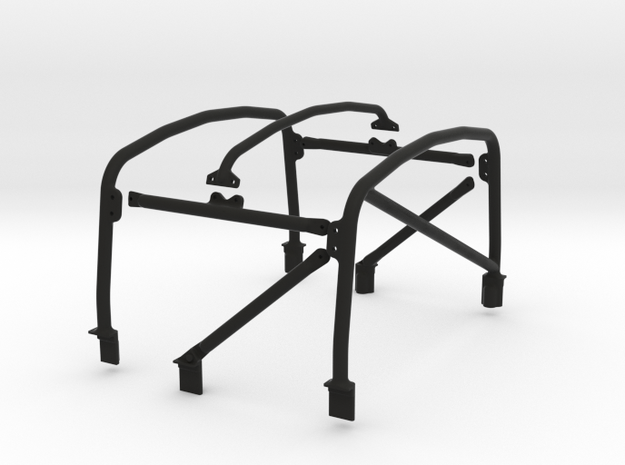 Raffee Land Rover Defender Pickup Cage in Black Strong & Flexible