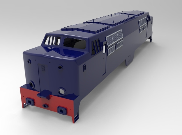 NS 1200, spoor 1,  scale 1:32 in White Strong & Flexible