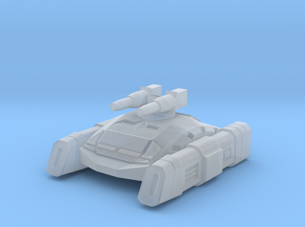 Enforcer Hover Tank in Smooth Fine Detail Plastic