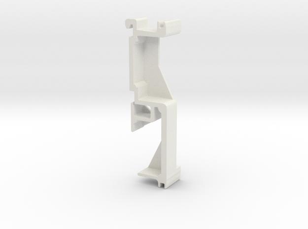 Blind Valance Clip 70 in White Natural Versatile Plastic