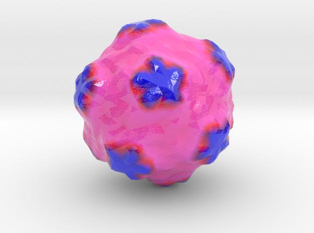 Satellite Tobacco Mosaic Virus in Coated Full Color Sandstone