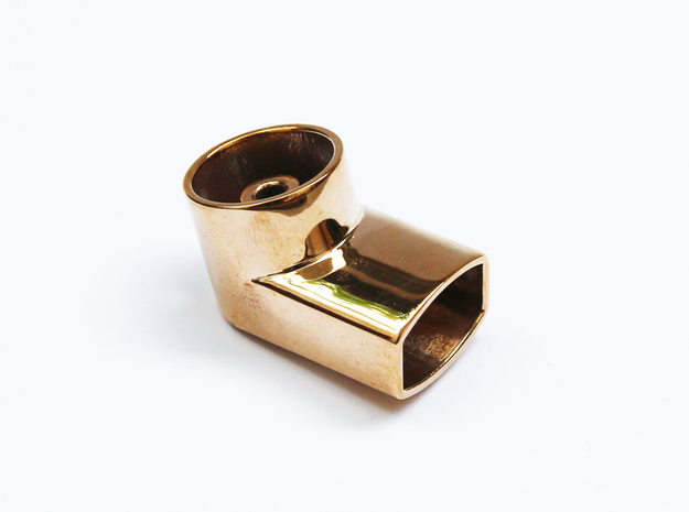 Jewelry-Inhaler Bronze in Polished Bronze