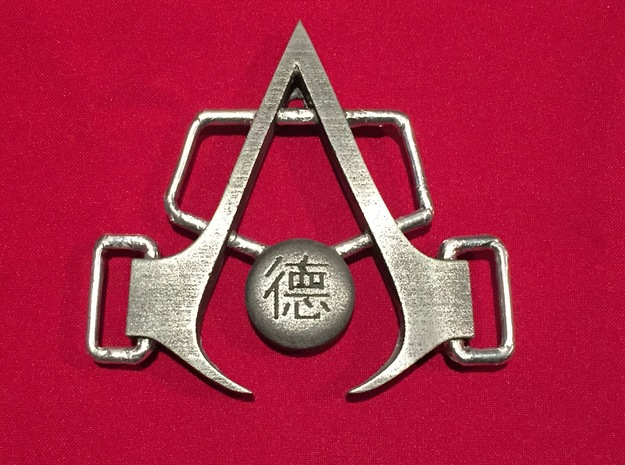 Shao Jun Buckle Assassin's Creed Chronicles- China in Polished Nickel Steel