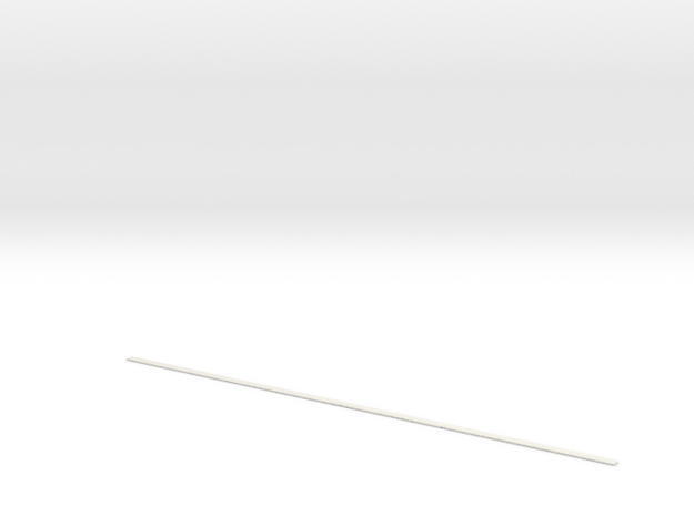 razor blade... in White Natural Versatile Plastic