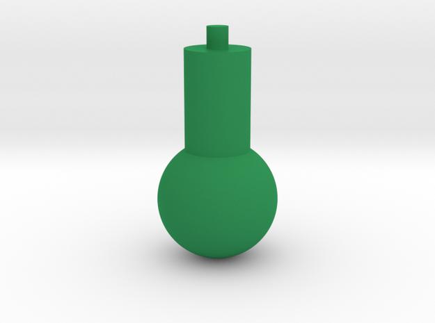 Fidget Spinner Bearing Tool in Green Processed Versatile Plastic