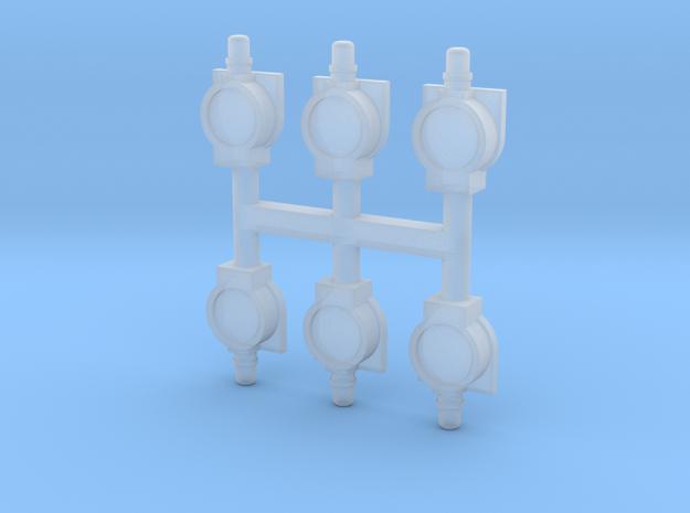 N Seinlampen olielampen NS (6 stuks groot)