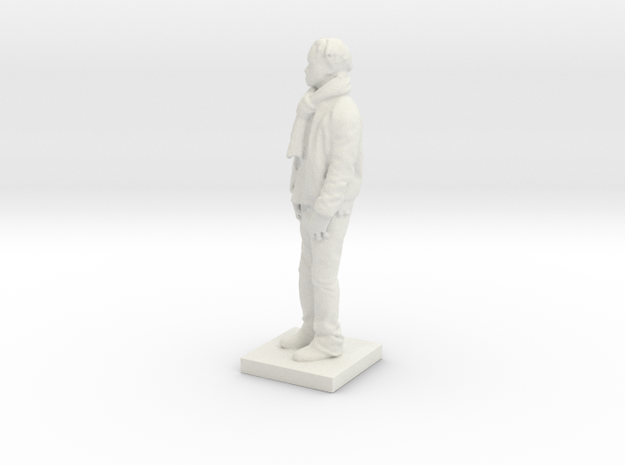 Printle C Homme 600 - 1/43 in White Natural Versatile Plastic