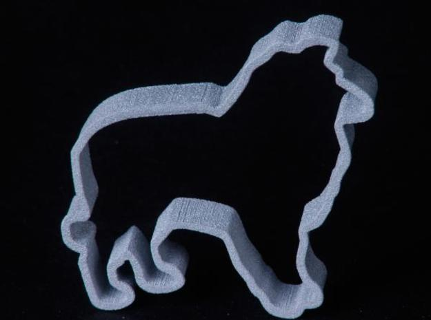 Sheltie Cookie Cutter 3d printed Sheltie