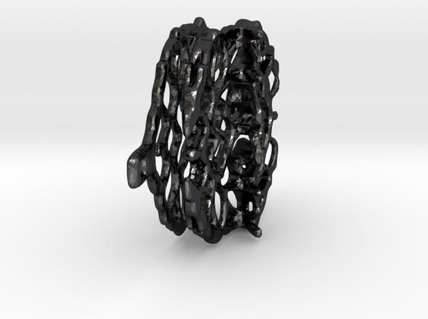 Nek4 in Polished and Bronzed Black Steel