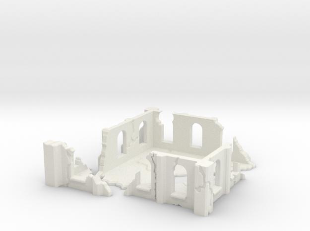 Modular Building in White Strong & Flexible