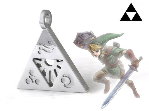 Zelda-Triforce Pendant