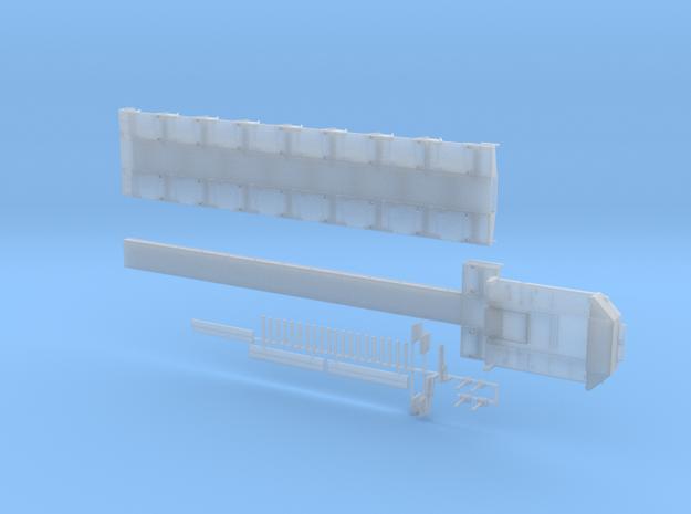 Tieflader ähnlich Goldhofer MPA 8 Achs 2750mm 1 Te in Smooth Fine Detail Plastic