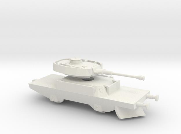 1/144 Panzerjaegerwagen tank train in White Natural Versatile Plastic