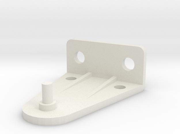Hold Down Bracket 383-B in White Natural Versatile Plastic