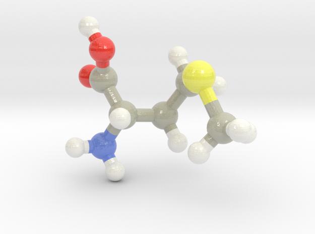 Methionine (M) in Glossy Full Color Sandstone