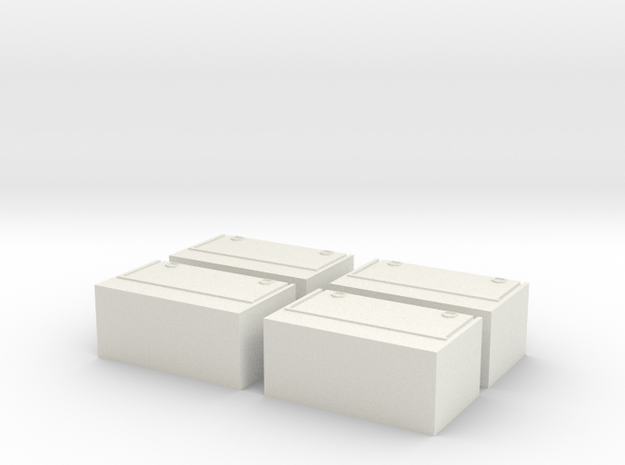 Toolboxes for trailers in White Strong & Flexible