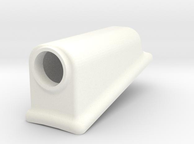 1.6 PHARE SOUS CABINE AGUSTA 109 in White Processed Versatile Plastic