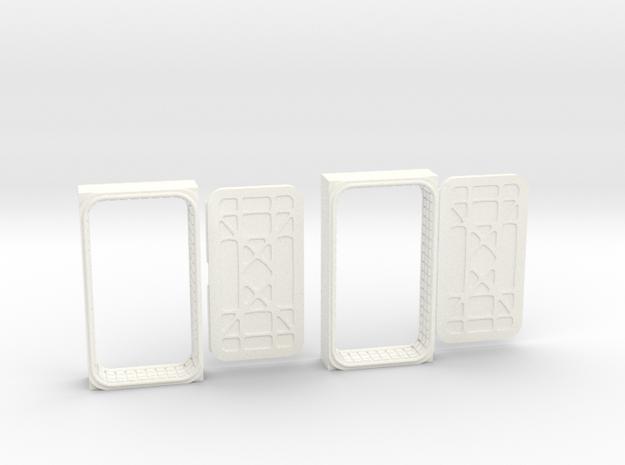 Docking Bay: Two Doors, 1:43 in White Processed Versatile Plastic
