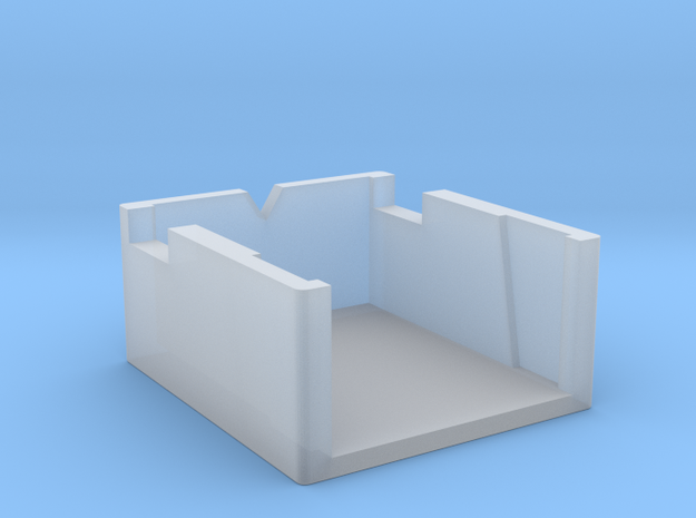 Dual Turntable Cartridge Alignment Gauge in Smooth Fine Detail Plastic