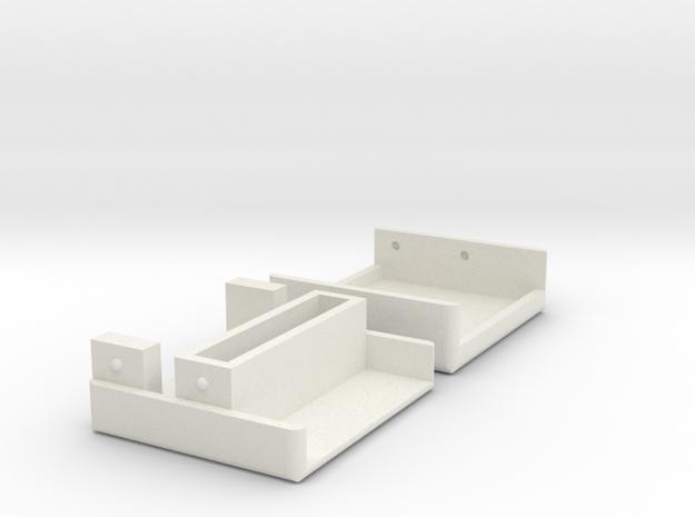 Apple IIGS VGA Adapter Case in White Strong & Flexible
