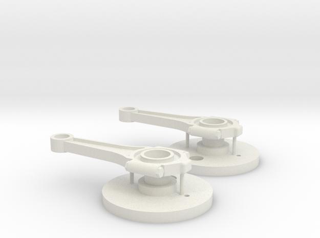 ESB EE-3 Body Greeblies in White Natural Versatile Plastic