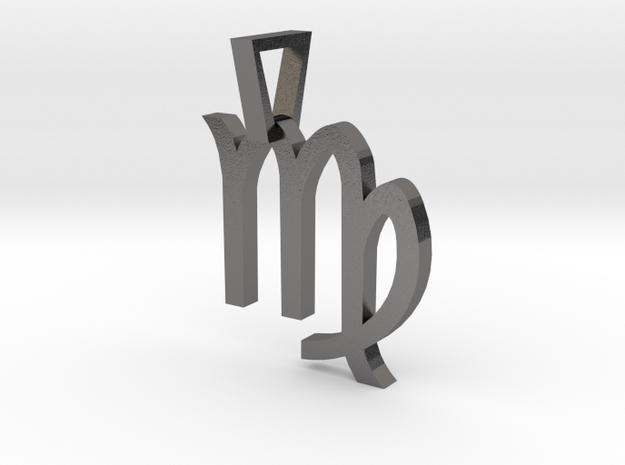 Virgo in Polished Nickel Steel