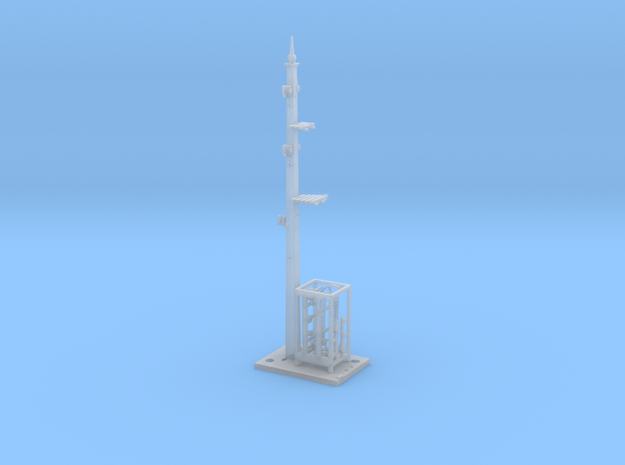 Home and Distant Signal 27 Ft Post - Fine Detail H in Smooth Fine Detail Plastic
