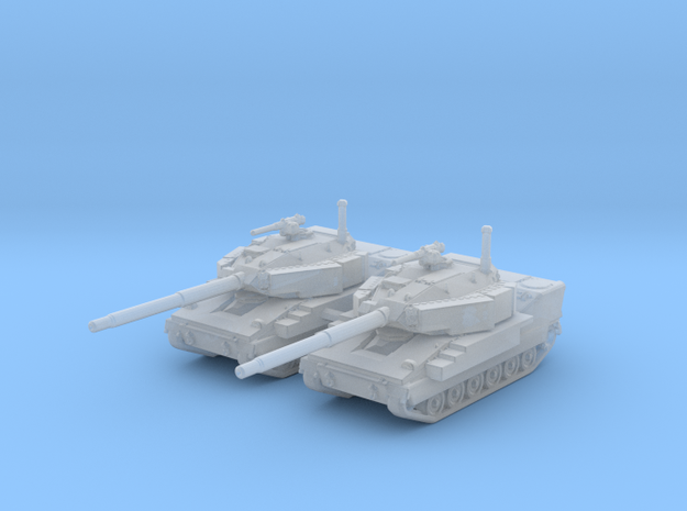 1/285 (6mm) US M8 Buford Light Tank x2 in Smooth Fine Detail Plastic