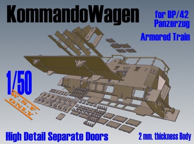 1-50 Sep-Parts K-Wagen For BP-42