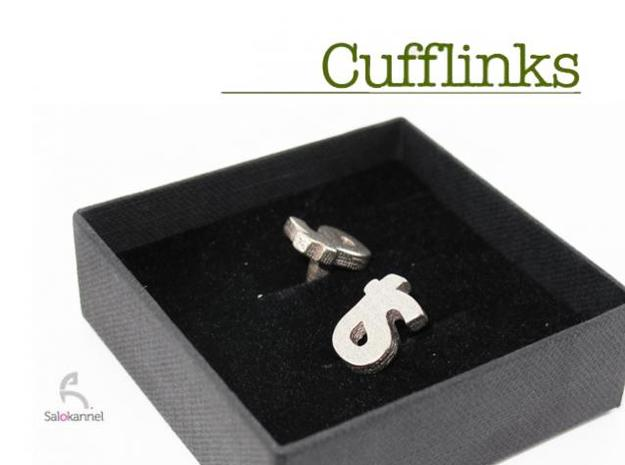 TS - Cufflinks 3d printed Comes in a nice box.
