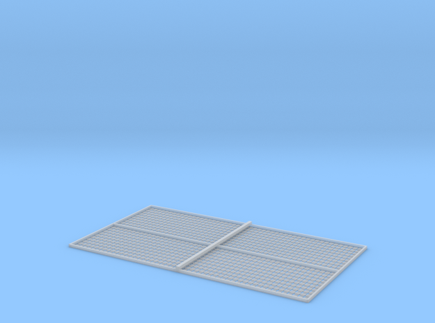 HO Sleeper Plates X 1000 in Smooth Fine Detail Plastic