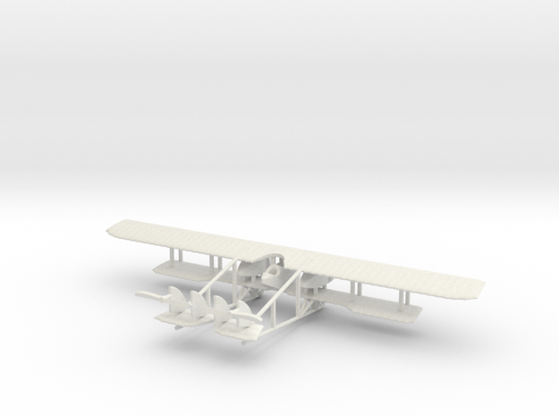 1/144 Caudron G.4 in White Natural Versatile Plastic