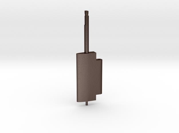 Flap Rudder (Main Blade) V03 1/87 in Matte Bronze Steel